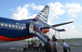 Last Boarding at Batavia Air