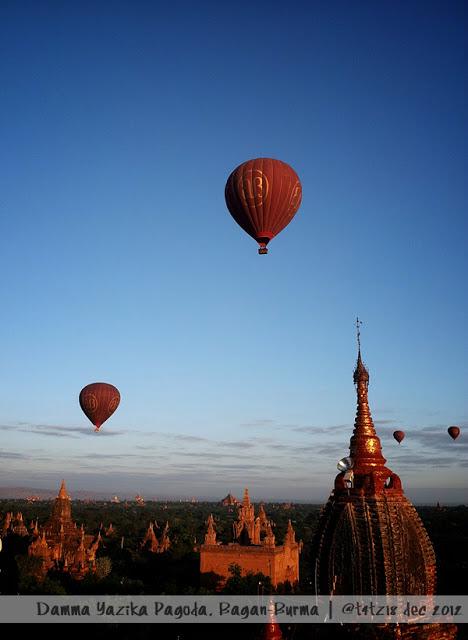 #tfp Balon Udara di atas Bagan