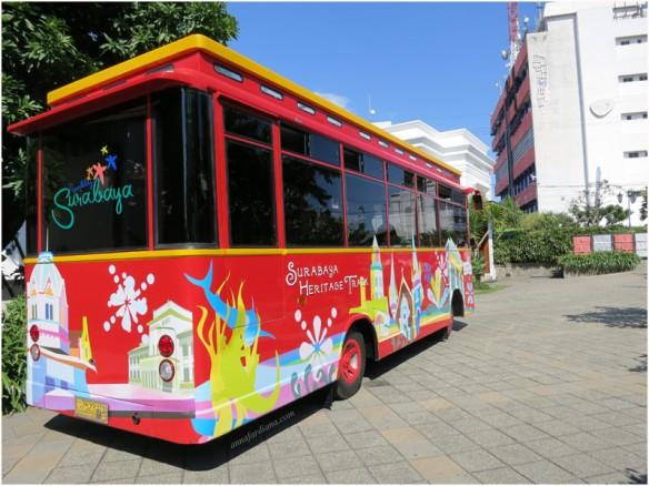 #tfp Surabaya Heritage Track Bus