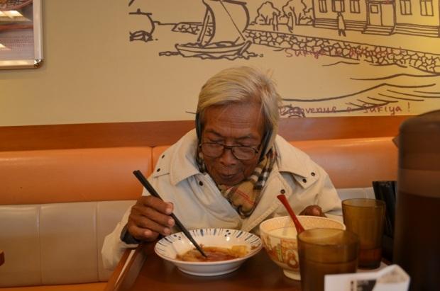 makan pertama di Jepang :D