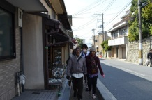 mendaki menuju kiyomizudera temple