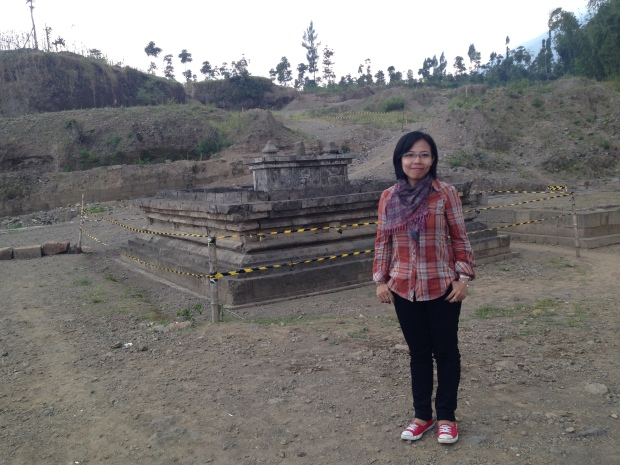 bukan stupa candi Liyangan :D