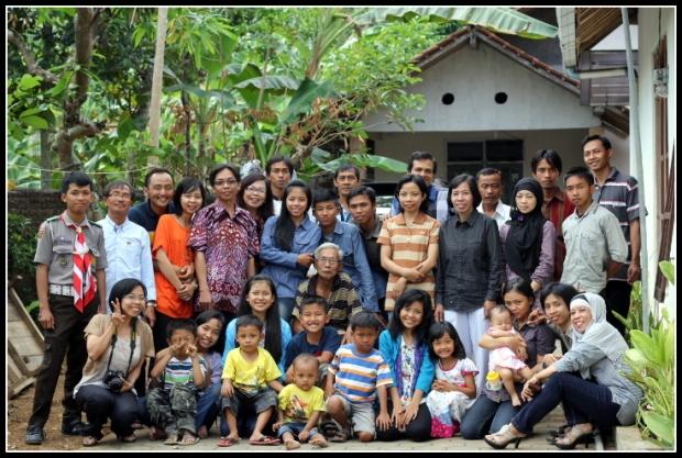 Soewarno's family