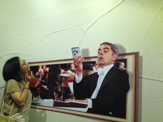 Ini dia fotograferku selama jalan2 di DeMata... Udah ya Mr.Bean, aku capek... Pulang yuk...